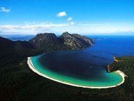 Purely a work of nature. A naturally occurring hidden beach in Marieta Islands, coast of Puerto Vallarta, Mexico