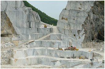 le cave del marmo a Carrara