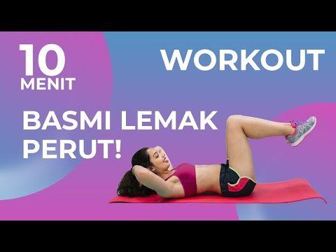 10 Menit Olahraga Mudah Mengecilkan Perut Buncit Tanpa Alat Workout Pemula Youtube Di 2020 Mengecilkan Perut Workout Buncit