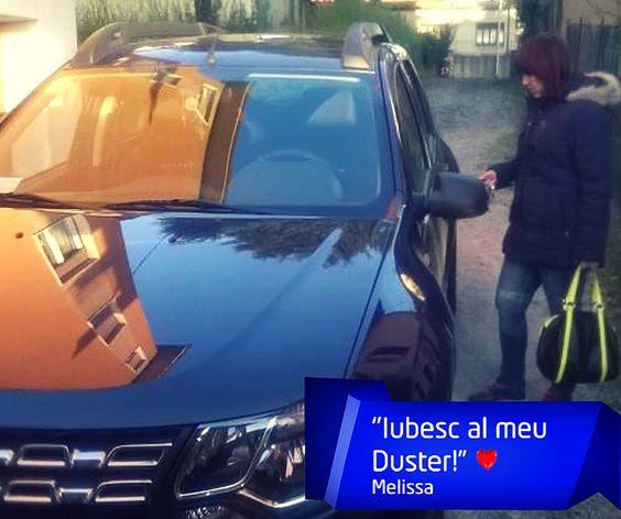 Îți mulțumim pentru imagine și mesaj, Melissa! Tu cum îți arăți dragostea față de Dacia ta?