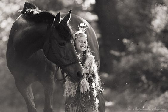 Kids & Horses one of the best things a girl can do!!