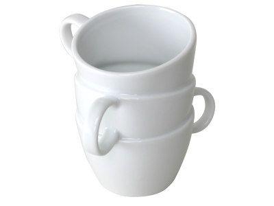 Werbetasse mit Pfiff - Stacked Mugs TRIPLE