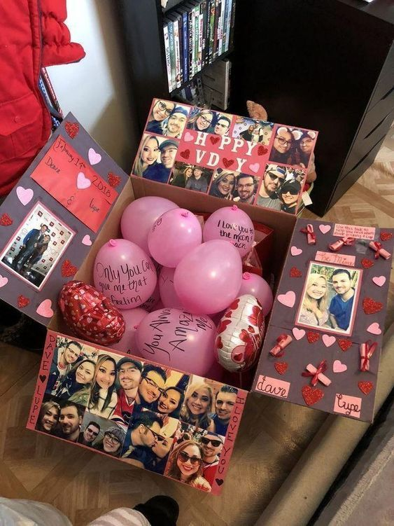 Valentines Day Package Diy Birthday Gifts Friend Birthday Gifts Girlfriend Gifts