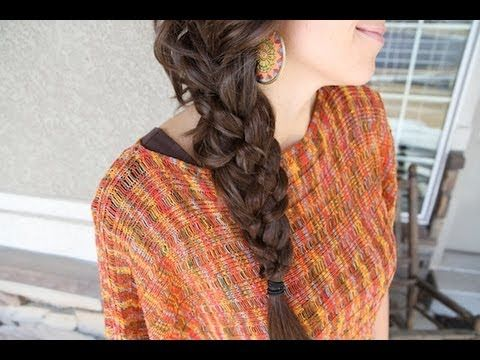 """Five-Strand """"Messy"""" Braid... lots of compliments on this one!"""