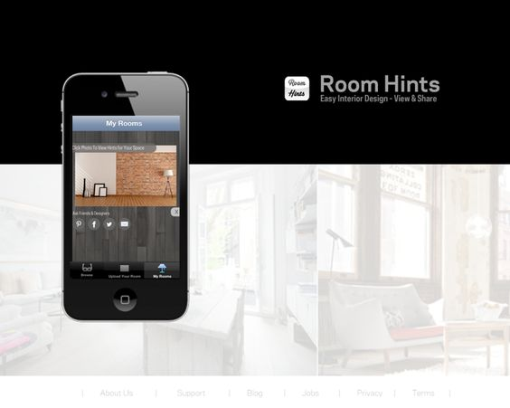 How cool.. IPhone APP for interior design :) www.roomhints.com