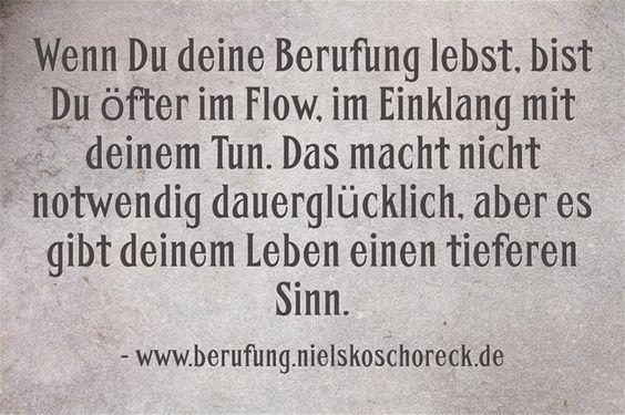 Finde und lebe deine Berufung: http://www.berufung.nielskoschoreck.de/ * #Berufung