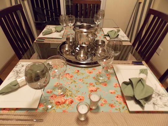 Realizando um Sonho | Blog de casamento e vida a dois: Vida a dois - Mesa Posta