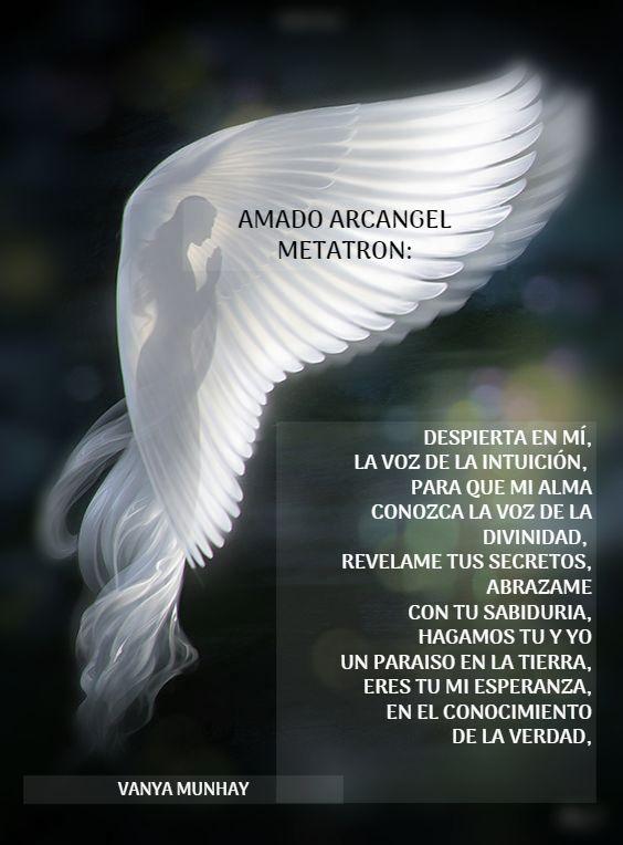 Amado Arcangel Metatron Intuicion Ya Desperte La Voz