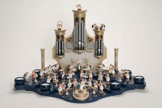 KWO Engel-Orgelspieler, sitzend (Engel-Orchester) # 75654