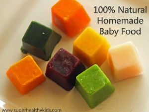 9 Perfect Homemade Baby Food Basic Recipes