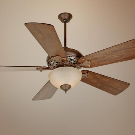 "54"" Craftmade Mia Vintage Madera  Ceiling Fan"