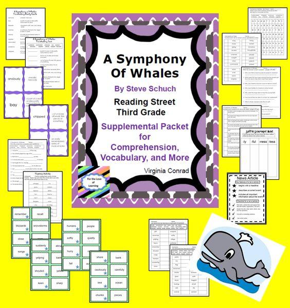 Amazing Bird Nests---Supplemental Packet--Third Grade Reading ...