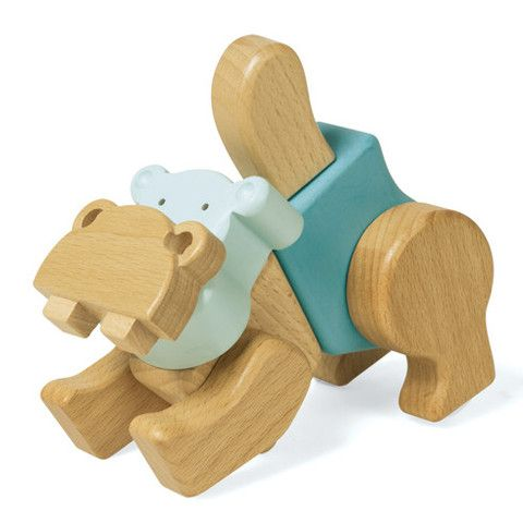 EQB Zoo Series - Hippo - SuperSmartChoices - 1