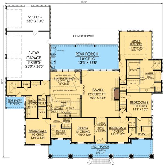 Safe Room Nice And House Plans On Pinterest