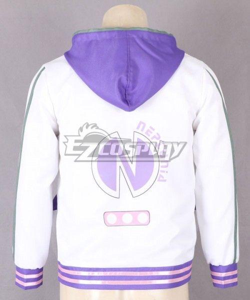 Hyperdimension Neptunia Purple Heart Cosplay Sweatshirt Hoodie custom made