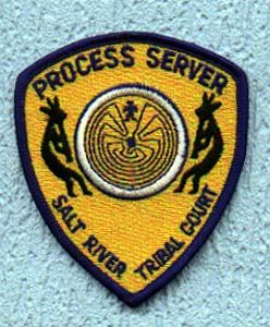 Salt River Tribal Court Process Server patch