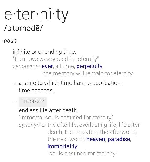 Pin By King D Man On Definition Everlasting Life Immortal Soul Theology