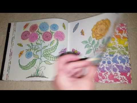 Youtube Johanna Basford Secret Garden Secret Garden Colouring Secret Garden Coloring Book