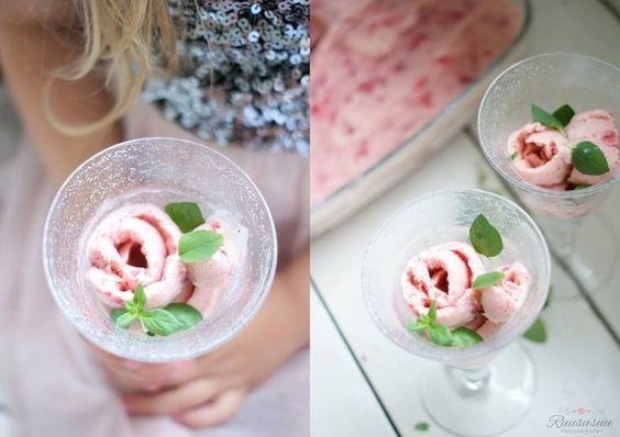 Ice cream like a rose ❤️