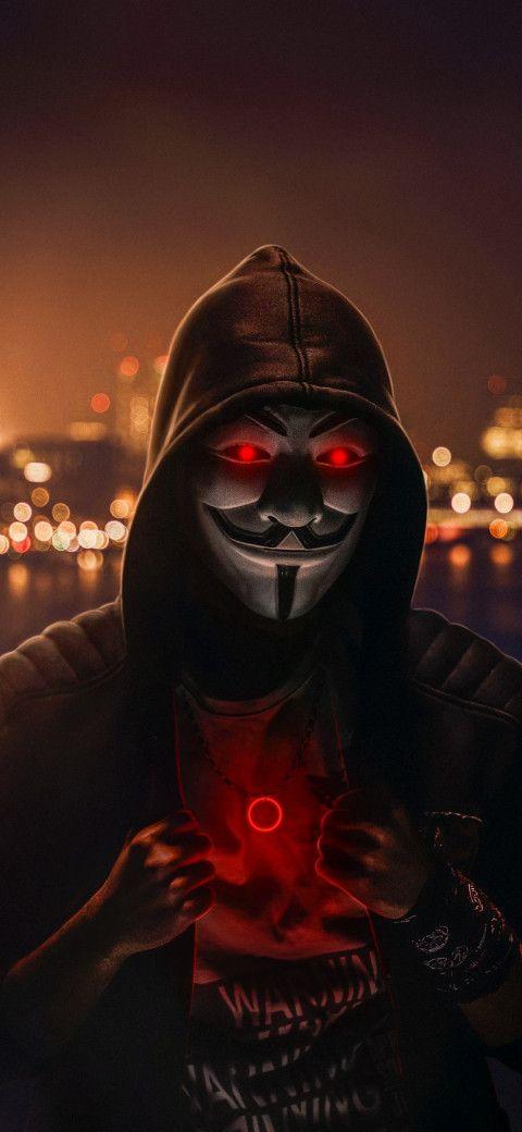 Anonymous Mask Man Wallpaper Hd 1080p 12 In 2020 Joker Iphone Wallpaper Joker Hd Wallpaper Superhero Wallpaper