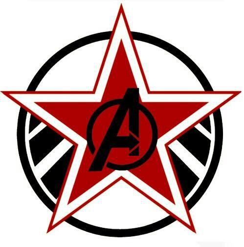 Avengers black widow symbol - photo#15