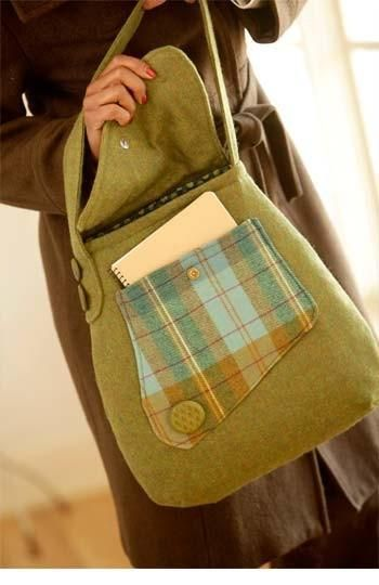 (9) Name: 'Sewing : Country Courier Bag