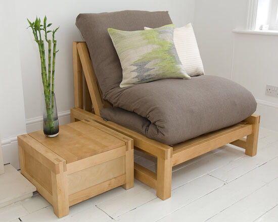 Nice single futon option