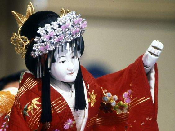 Japanese Puppets Bunraku | ... Los Angeles: Theatre Around the World: Japanese Bunraku Puppet Theatre