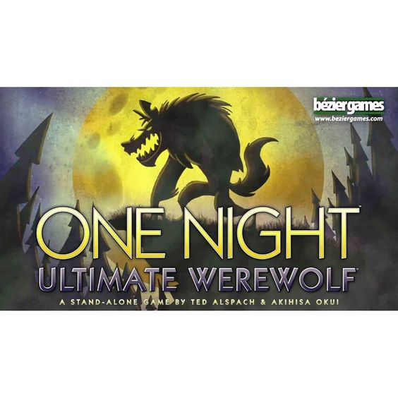 One Night Ultimate Werewolf The Card Game