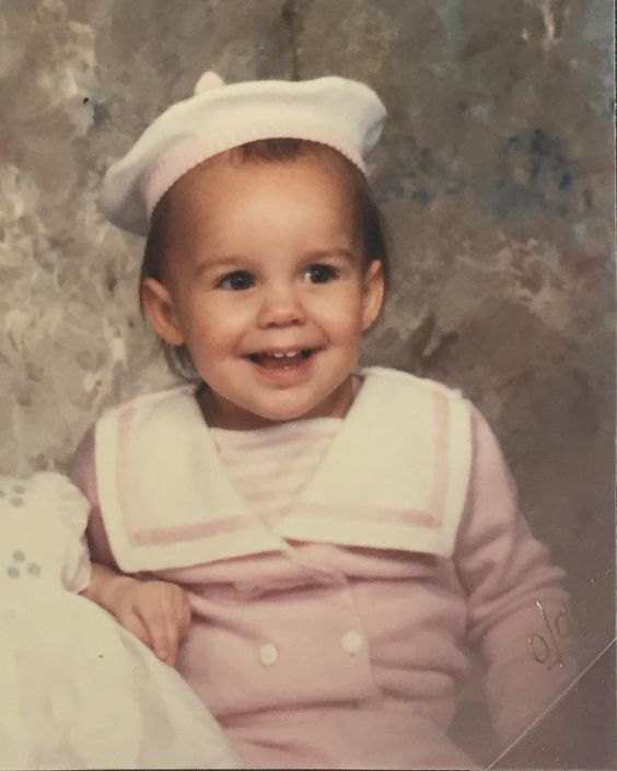 #tbt to only wearing pink Part 2. I'd like to shout out to my mom @amberkincheloe for this sweet, pink sailor suit.