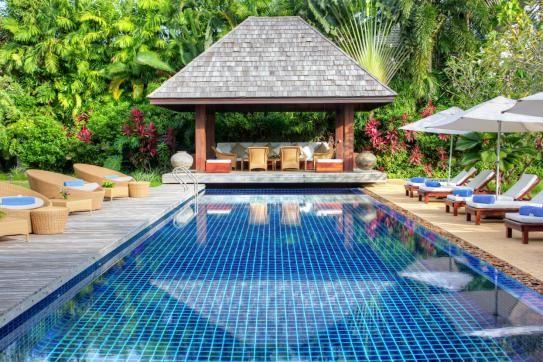 Luxury villa in Phuket Thailand.