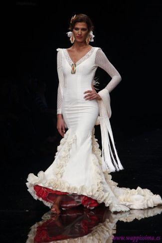 Novia arte y comp s flamencas pinterest flamenco for Flamenco style wedding dress