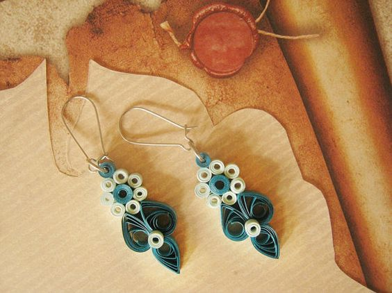 First Wedding Anniversary Gift Jewelry : anniversary gift for her Wedding anniversary gift In love paper gift ...