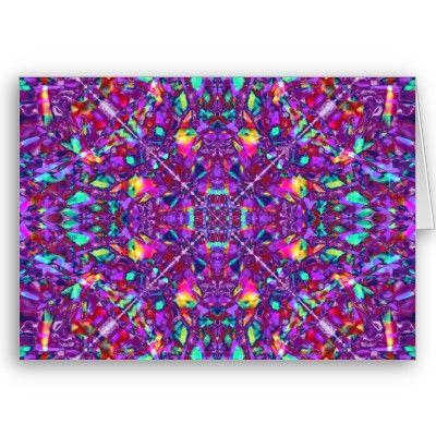 #Purple #Mandala Hippie Pattern #Greeting #Card $3.35