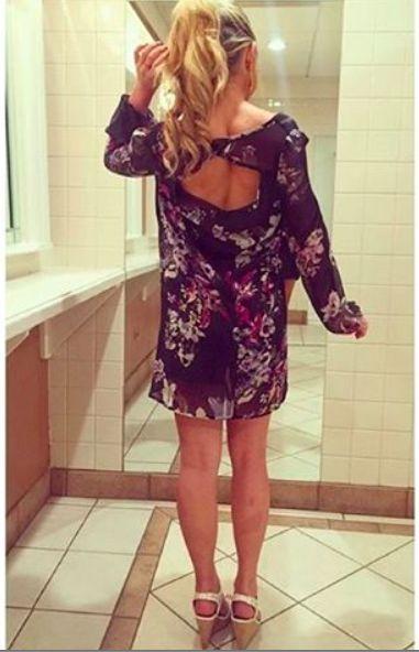 #Florals and #OpenBack dress goals. #shopparkerjames