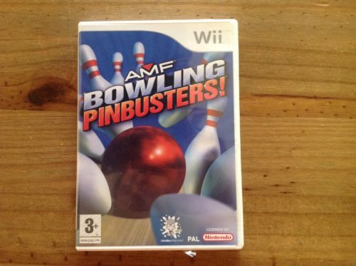 Amf #bowling pinbusters wii #game!! #excellent used condition!!,  View more on the LINK: 	http://www.zeppy.io/product/gb/2/142184948424/