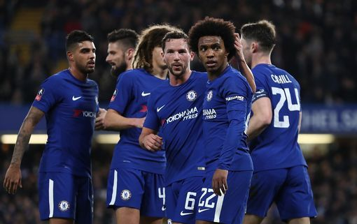 Fa Cup Manchester United Chelsea Get Quarter Final Opponents See Full Draws Chelsea Team Chelsea Vs Barcelona Chelsea Manager