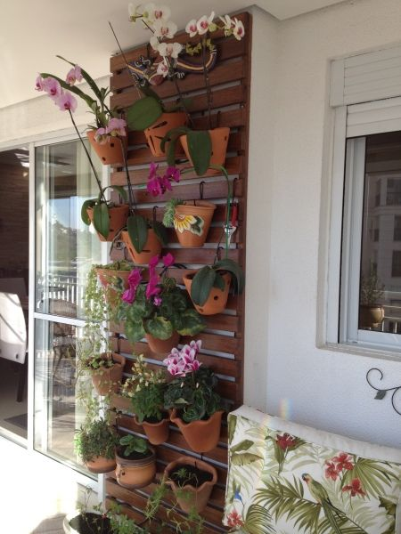 deck jardim vertical:Jardim Vertical
