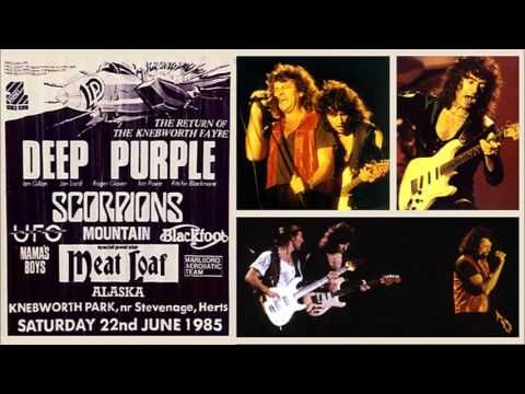 Deep Purple Live At Knebworth Uk 1985 Full Show Ish Audio In 2020 Deep Purple Full Show Deep