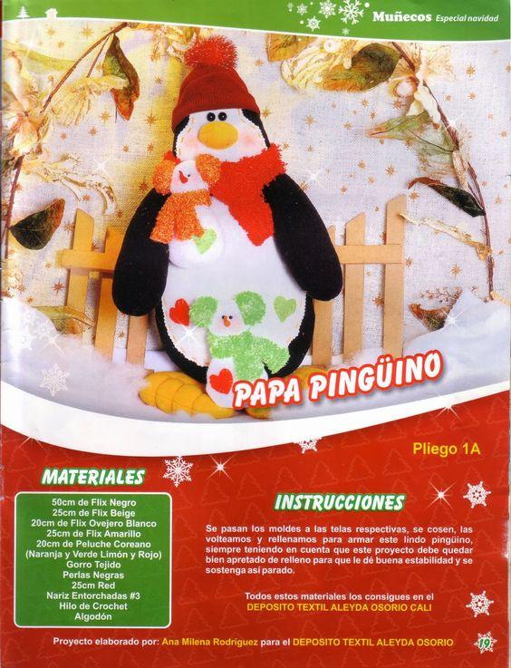 Revista mu ecos de navidad revstas de navidad - Munecos de navidad ...