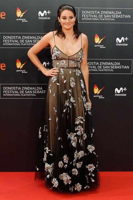 "Shailene Woodley in Valentino attending the premiere of ""Snowden"" during the 64th San Sebastian International Film Festival at the Maria Cristina Hostel in San Sebastian, Spain (I)"