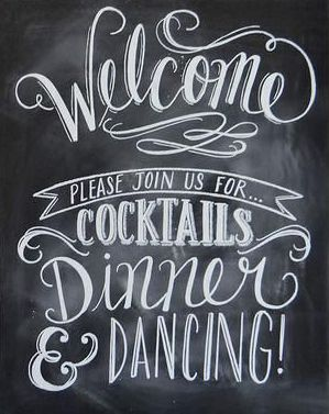 Welcome chalkboard wedding sign wedding pinterest welcome chalkboard fonts and signs for Chalkboard sign font