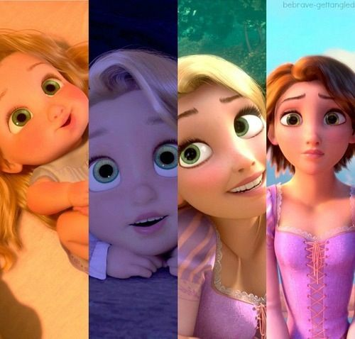 Timeline of rapunzel. yes my board is filled with rapunzel right now. My friends are honestly obsessed with this movie at the moment and I swear I'm not looking all of it up lol. :) -3