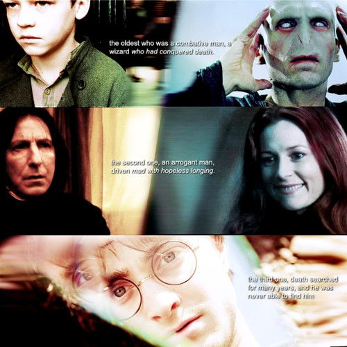 Yet another reason J.K. Rowling is amazing!!: Potter Stuff, Peverell Brothers, Jk Rowling, Harry Potter, Abandoned Boys, 3 Brothers, Potterhead, Deathly Hallows