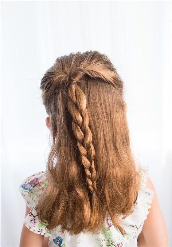 Girl Hairstyles Easy Girl Hairstyles In 2020 Easy Hairstyles Cute Simple Hairstyles Girl Hairstyles