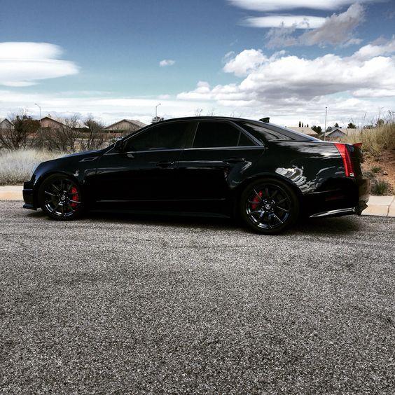 Black Chrome CTS-V Sedan