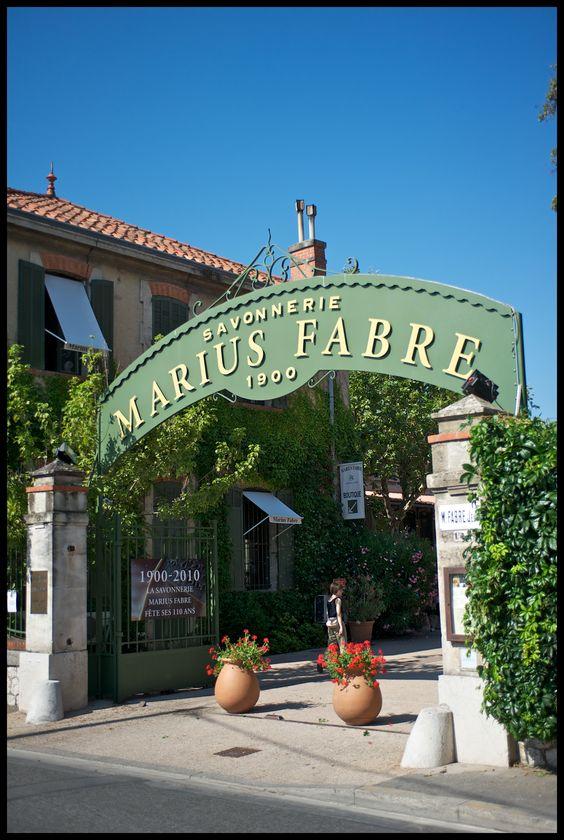 entr e de la savonnerie marius fabre salon de provence