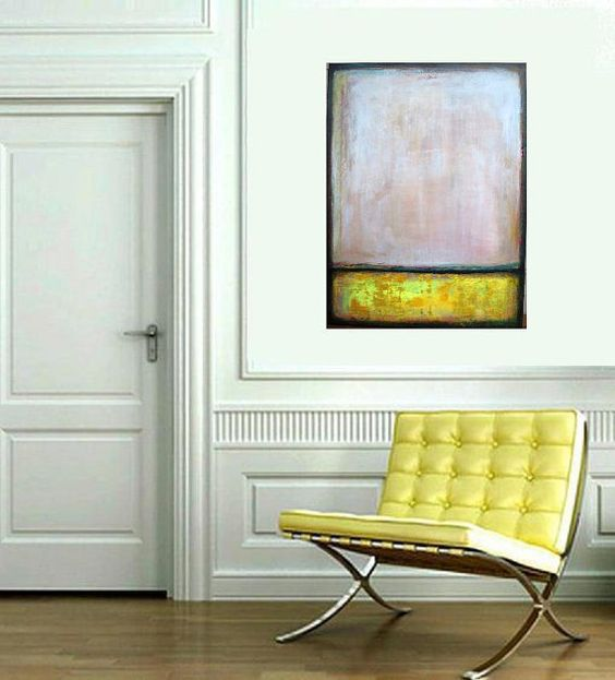 Original Abstract Painting  acrylic Expressionist by VESNAsART, $175.00