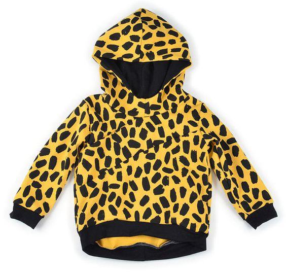 Slant seam hoodie sewing pattern pdf instant by brindilleandtwig