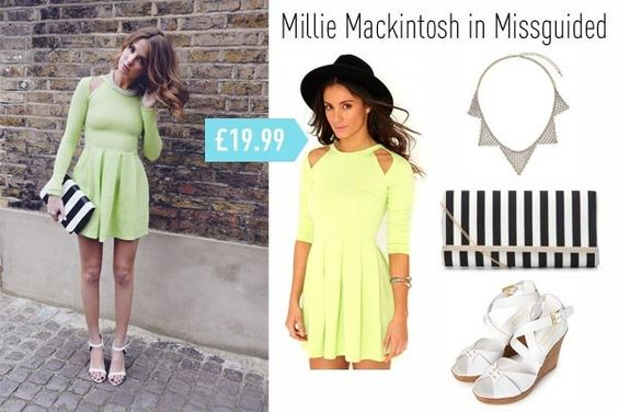 Millie Mackintosh in Missguided #fashion